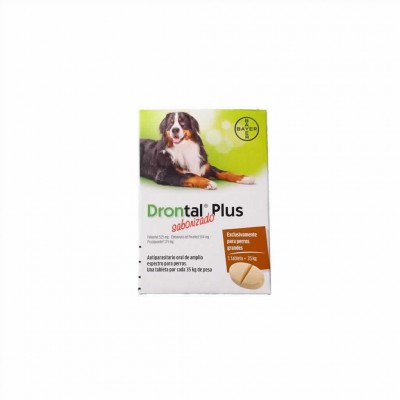 Drontal Plus Sabor Xl 2 Cp