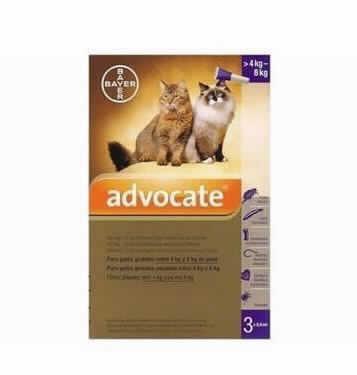 Advocate 3x0.8 Ml Gato (4-8 Kg)