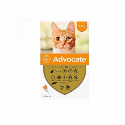 Advocate 3x0.4 Ml Gato (0-4 Kg)