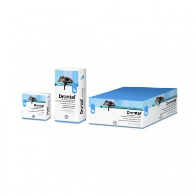 Drontal Gato Elipsoide 2 Cp