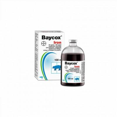 Baycox Iron Lechones Iny. 100 Ml