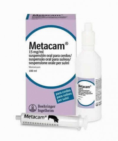 Metacam 15 Mg/ml Susp.oral100 Ml Porcino