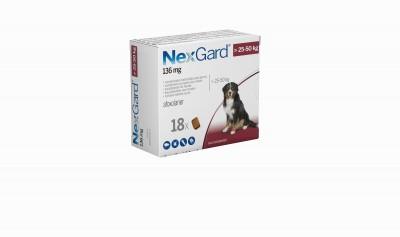 Nexgard Perro 25-50 Kg 18 Comp