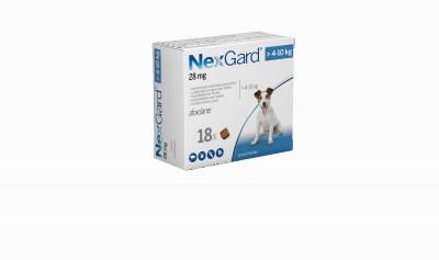 Nexgard Perro 4-10 Kg 18 Comp