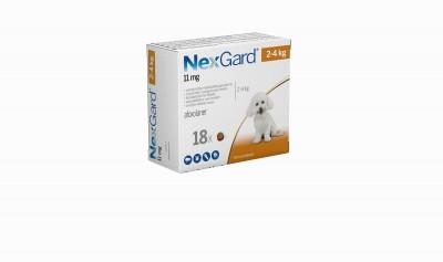 Nexgard Perro 2-4 Kg 18 Comp