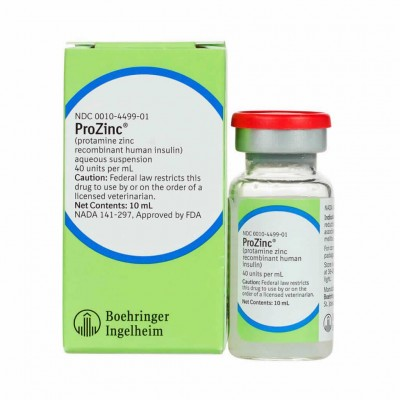 Prozinc Sol Iny 40 Ui 10ml Gatos