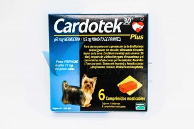 Cardotek Plus 68 Azul (hasta 11kg) 6cp