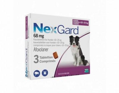 Nexgard Perro 10-25 Kg 3 Comp