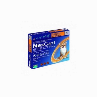 Nexgard Spectra 2-3.5 Kg 3 Comp