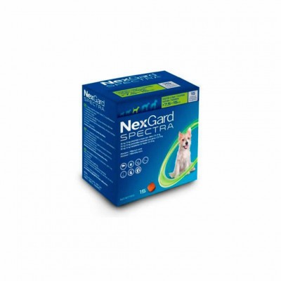 Nexgard Spectra 7.5-15 Kg 15 Comp