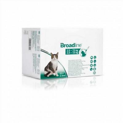 Broadline Gato 2,5-7,5 Kg (15 Aplicacion