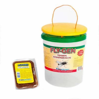 Fly-gen Trampa Atrapamoscas C/cebo