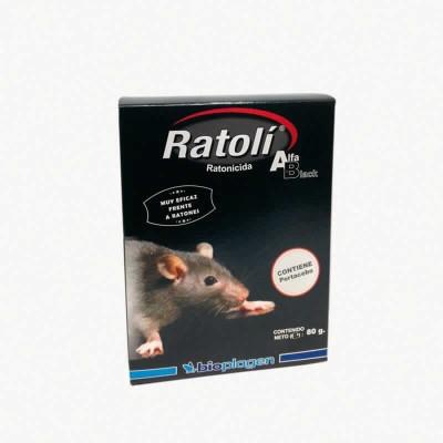 Ratoli Alfa Ratones Cebo Fresco 500 Gr
