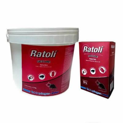 Ratoli Secure Parafina 3x1kg(ovulo 10gr)