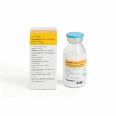 Propofol Lipuro 1%  5  X 20 Ml