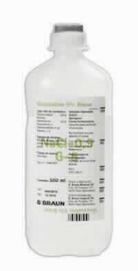 Glucosalino 5% Braun 250 Ml  Vet 20 Ud