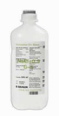 Glucosalino 5% Braun 500 Ml  Vet 10 Ud