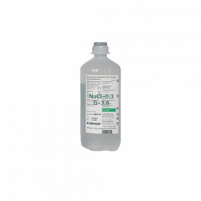 Glucosalino 5% Braun 1000 Ml  Vet 10 Ud