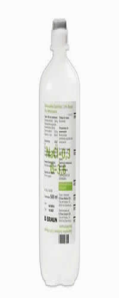 Glucosalino Isot 3.6% Braun 500ml10 Ud