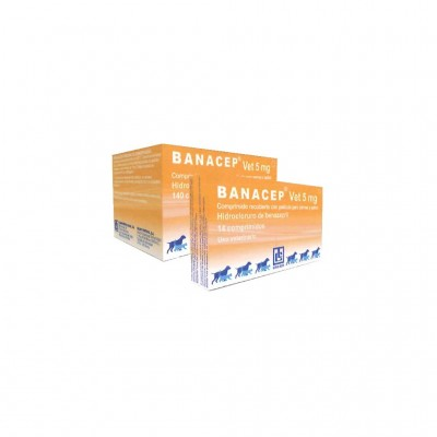 Banacep Vet 5 Mg 140 Cp