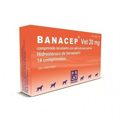 Banacep Vet 20 Mg 14 Cp