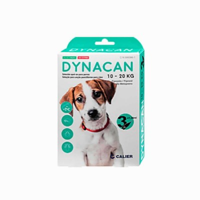 Dynacan Spot On Perros 10-20 Kg 3 Pip