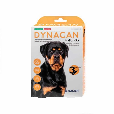 Dynacan Spot On Perros + 40 Kg 3 Pip
