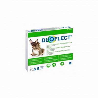Duoflect Gato >5 Kg/perro 2-10 Kg 3 Pip