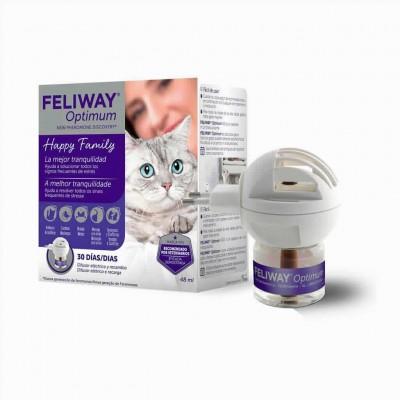 Feliway Optimum Difusor + Recambio 48ml