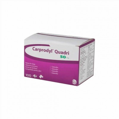 Carprodyl Quadri 50 Mg, 100 Comp