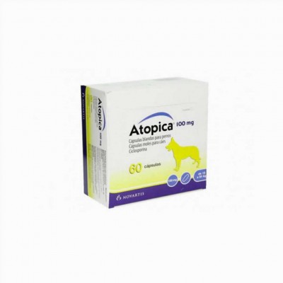 Atopica 100 Mg 60 Cap