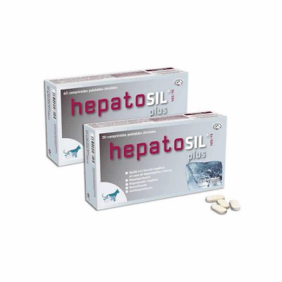 Hepatosil Plus, 60 Cp