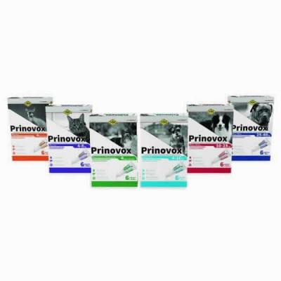Prinovox Perro 10-25 Kg 6x2,5 Ml