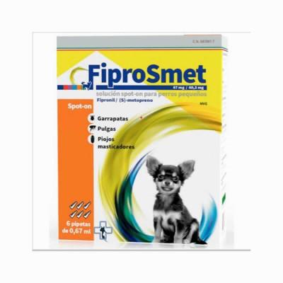 Fiprosmet Perros Grandes 2.68 Ml 6 Pip
