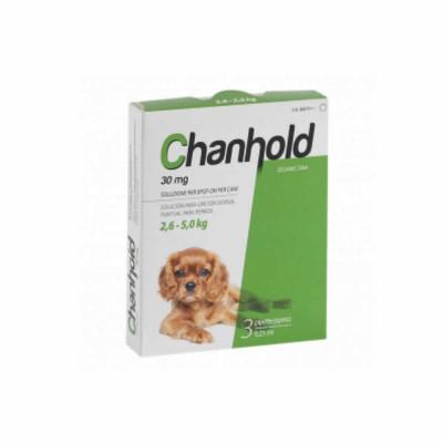 Chanhold 30 Mg Perro 2,6-5 Kg S 3pip
