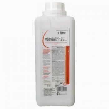Vetmulin Sol.125 Mg/ml 1 L