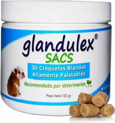 Glandulex Sacs 30 Croquetas Sabor Carne