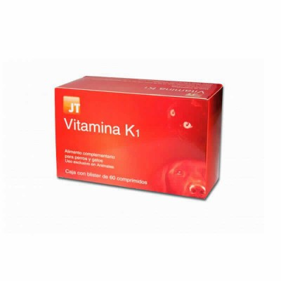 Vitamina K1 Razas Peq 60 Cp(jt)