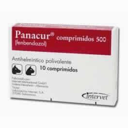 Panacur 500 Mg 10 Cp