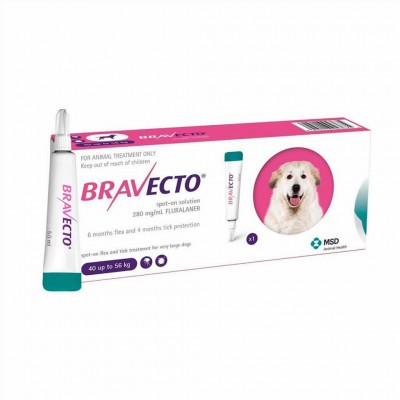 Bravecto Spot On Xl 1400 Mg 40-56kg 1pip