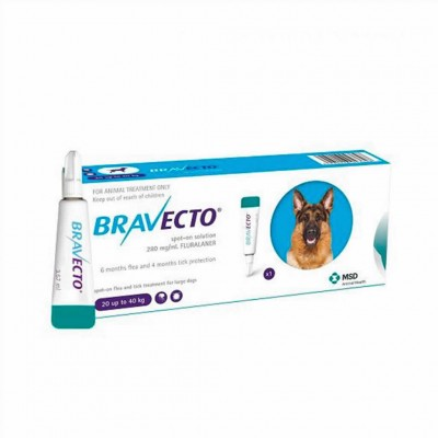 Bravecto Spot On L 1000 Mg 20-40kg 1pip