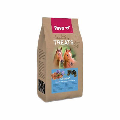 Pavo Healthy Treats Linseed (12 X1kg)