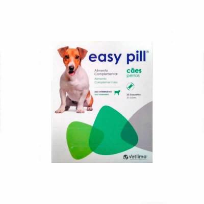 Easy Pill Perros 20 Barras (snack Medic.)