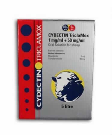 Cydectin Triclamox 5 Litros Pour On Bovino