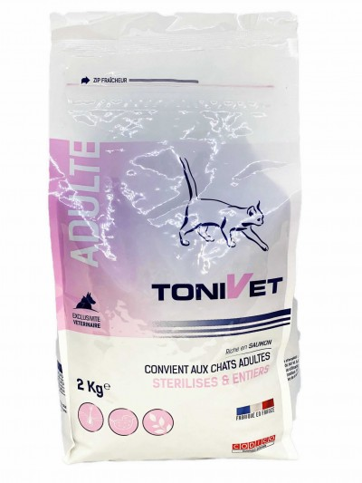 Tonivet Gato Adult Salmon 2 Kg