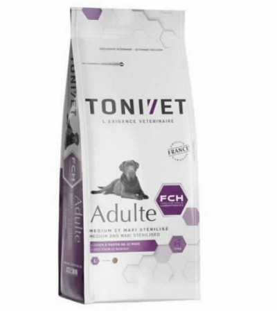 Tonivet Adult Medium/maxi Steril.3 Kgs