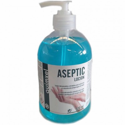 Locion Hidroalc Aseptic Dosif 500ml