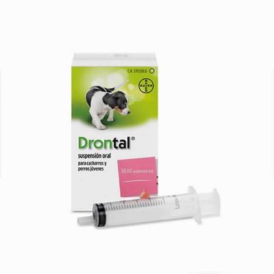 Drontal Cachorros Suspension Oral 50 Ml