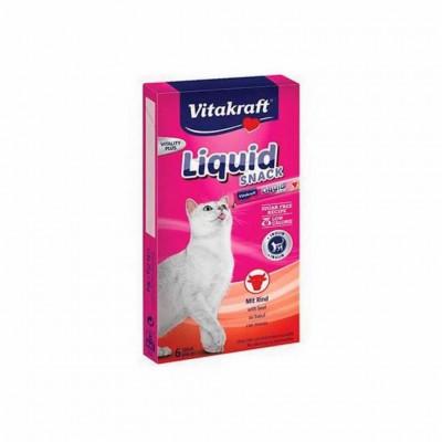Snack Liquid Ternera&inulina 11x90gr