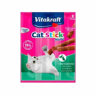 Snack Stick Mini Pato&conejo 20x(3=18gr)